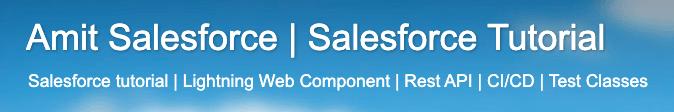 Blog de Amit Salesforce
