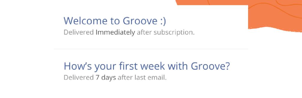 secuencia de correo electrónico de incorporación del cliente a nuevos usuarios