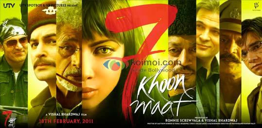 7 Revisión de Khoon Maaf - Koimoi
