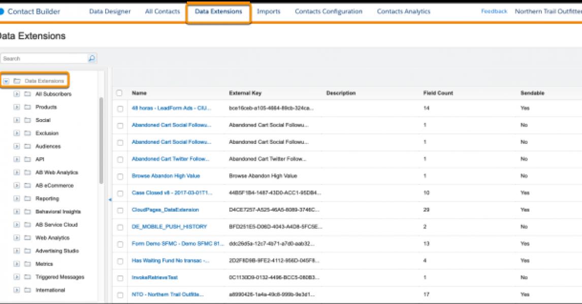 Actualizar toda la lista de suscriptores en Marketing Cloud