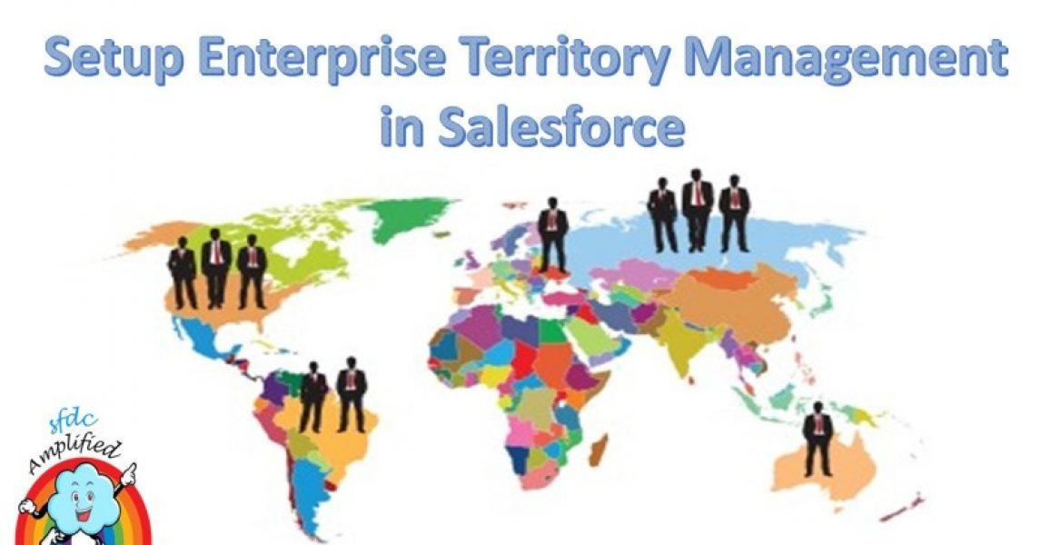 Configuración de Enterprise Territory Management en Salesforce