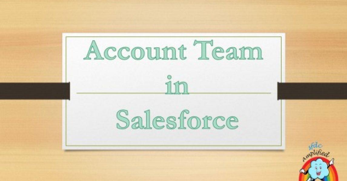Equipo de cuentas en Salesforce