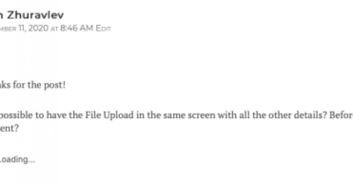 Introducción a Salesforce Flow - Parte 28 (¿Tiene un componente de carga de archivos y otros detalles en una sola pantalla? ¿En serio? ¡Guau!)